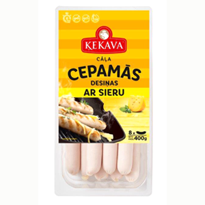 Cepamās desiņas ar sieru ĶEKAVA, 400g