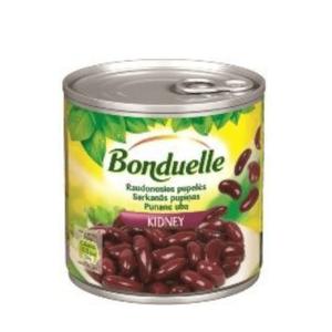 Sarkanās pupiņas BONDUELLE, 400g / 240g