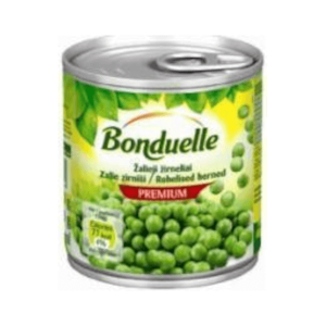 Zaļie zirnīši BONDUELLE, 200g  / 130g