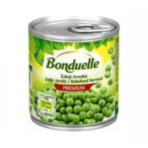 Zaļie zirnīši BONDUELLE, 200ml  / 130g
