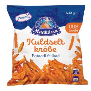 Kartupeļi - frī PREMIA TALLINNA KÜLMHOONE no batātes, 500g