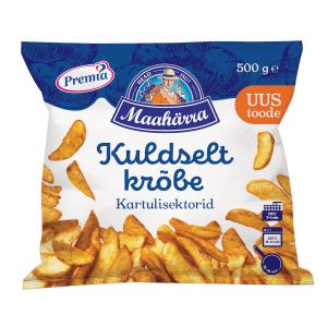 Kartupeļi PREMIA TALLINNA KÜLMHOONE Kartupeļu daiviņas ar garšvielām, 500g