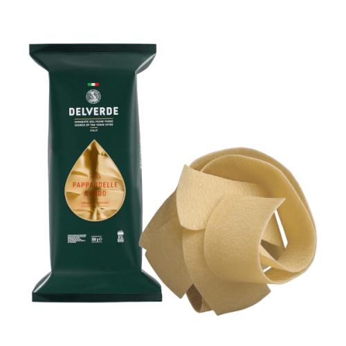 Pasta DELVERDE nūdeles ligzdas Pappardelle, 250g