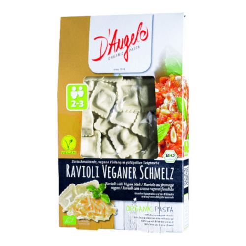 Vegānu Ravioliarkausēto sieru D'ANGELO, 250g