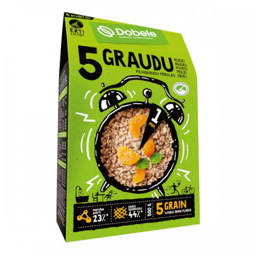 Pārslas Dobele 5 graudu 500g