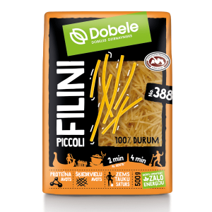 Makaroni Dobele Filini Piccoli 500g (nūdeles)