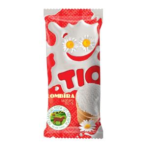 TIO Vaniļas plombīra saldējums, 130ml/80g