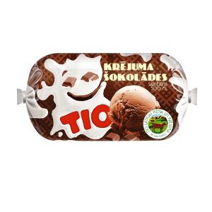 TIO Krējuma šokolādes saldējums 500 ml/240g