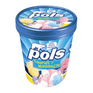 POLS Saldējums ar cukurvates garšu un maršmelo, 500ml/250g