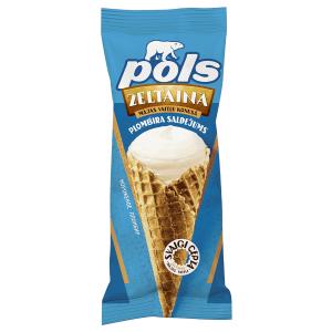 POLS Vaniļas plombīra saldējums, 200ml/90g