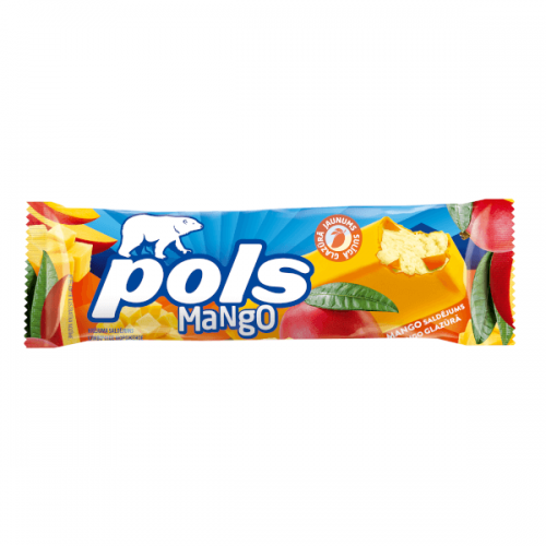 POLS Saldējums mango garšas glazūrā, 70ml/50g