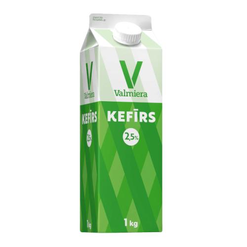 Kefīrs VALMIERA 2.5%, 1kg