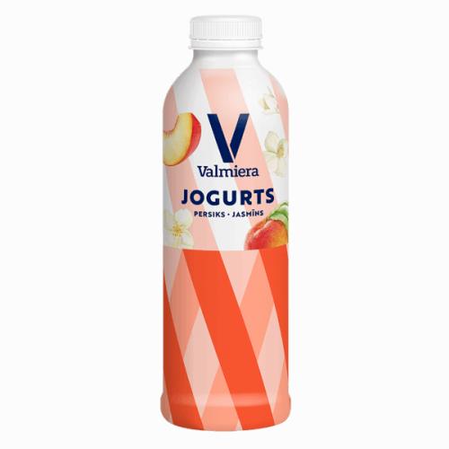 Jogurts VALMIERA persiks - jasmīns, 730g