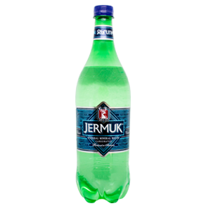 Minerālūdens, dabīgais, gāzēts JERMUK, 1L